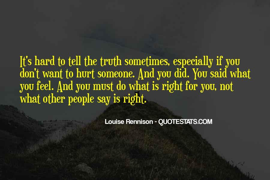 Truth Said Quotes #54035