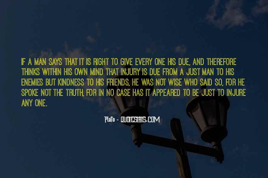 Truth Said Quotes #55013