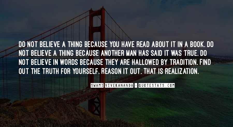 Truth Said Quotes #55190