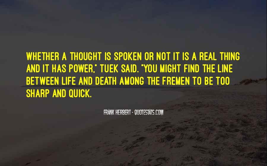 Truth Said Quotes #77169