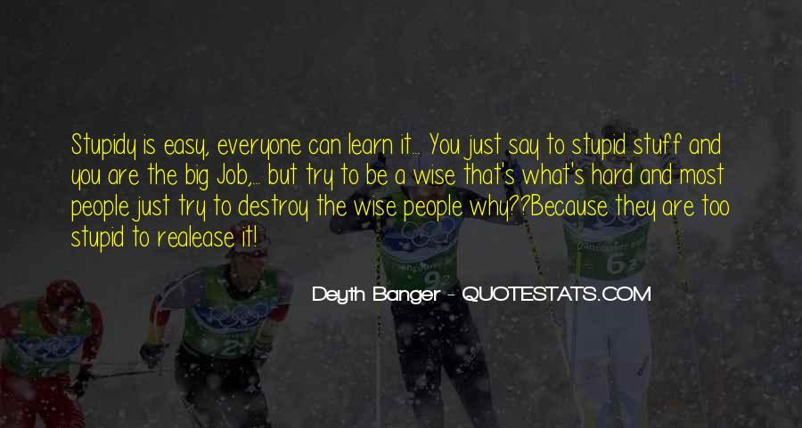 Truth Said Quotes #81283