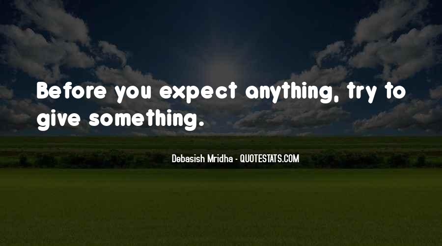 Try Before You Give Up Quotes #1170521