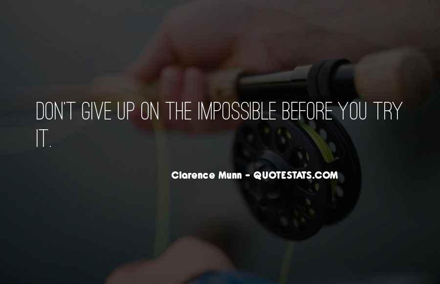 Try Before You Give Up Quotes #574235