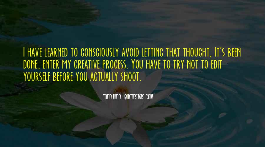 Trying To Avoid You Quotes #1716088