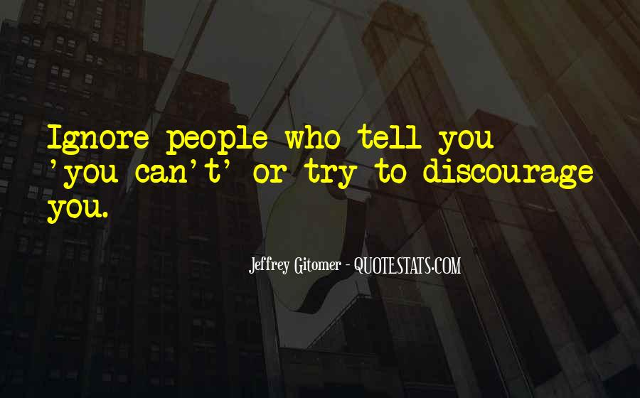 Trying To Ignore You Quotes #1005655