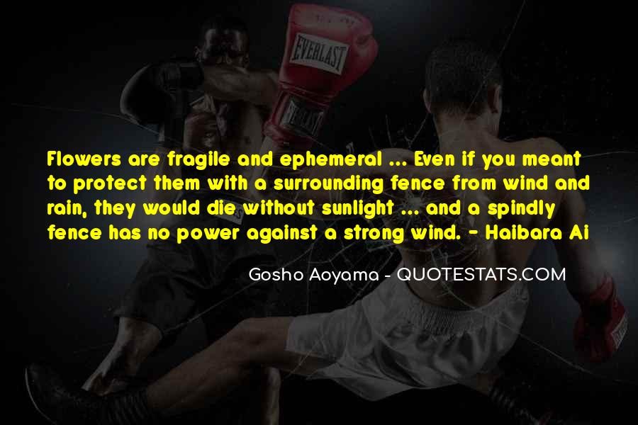 Trying To Keep Strong Quotes #10807