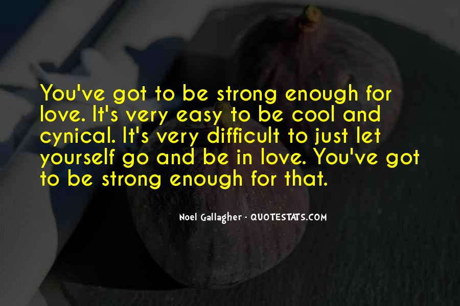 Trying To Keep Strong Quotes #12463