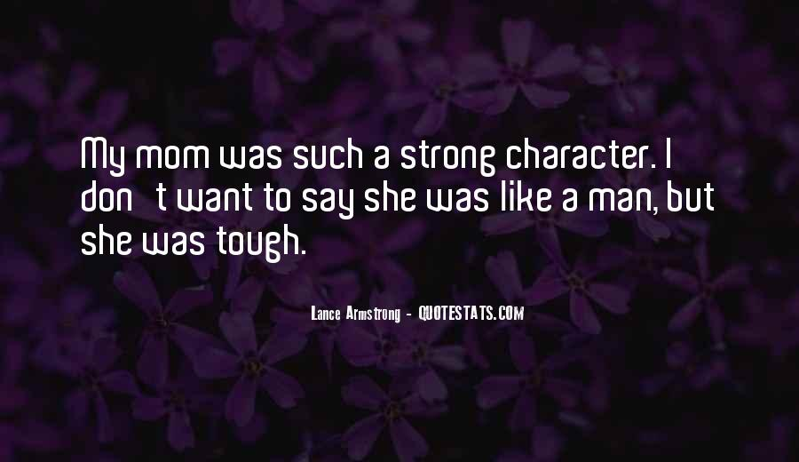 Trying To Keep Strong Quotes #13948