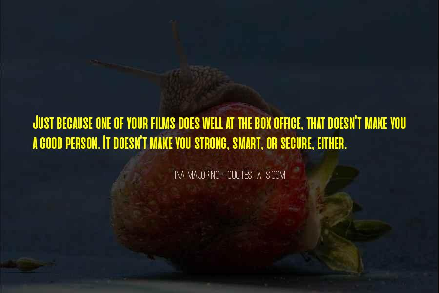 Trying To Keep Strong Quotes #2801
