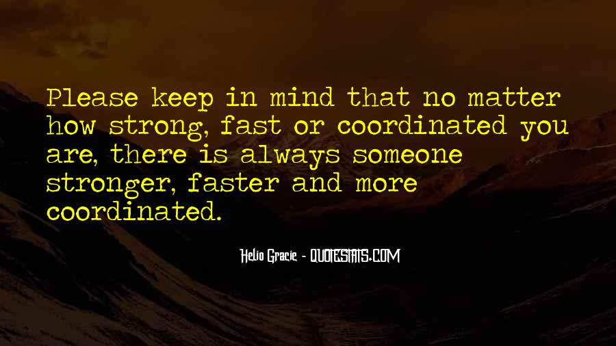 Trying To Keep Strong Quotes #3685