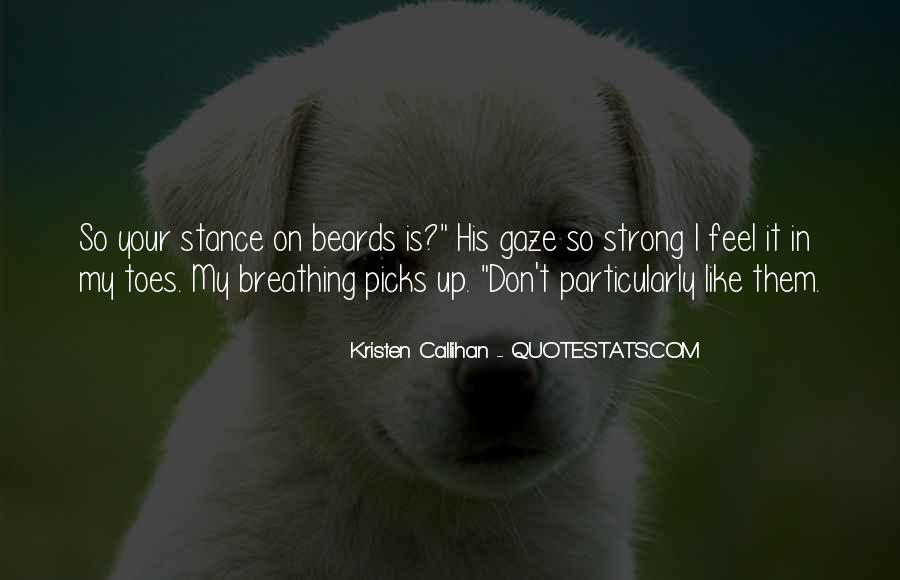 Trying To Keep Strong Quotes #3806