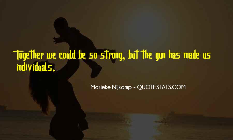 Trying To Keep Strong Quotes #8301