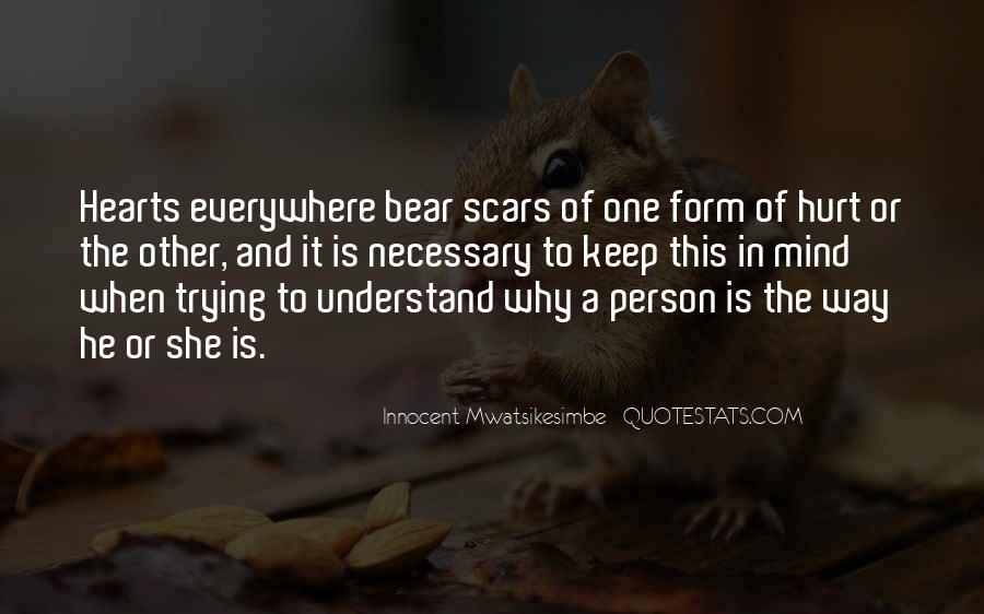 Trying To Understand Others Quotes #57927