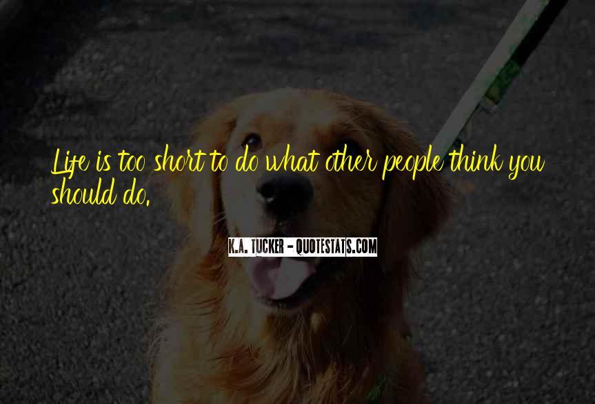 Tucker Max Life Quotes #790698