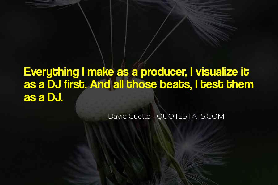 Quotes About David Guetta #1037296
