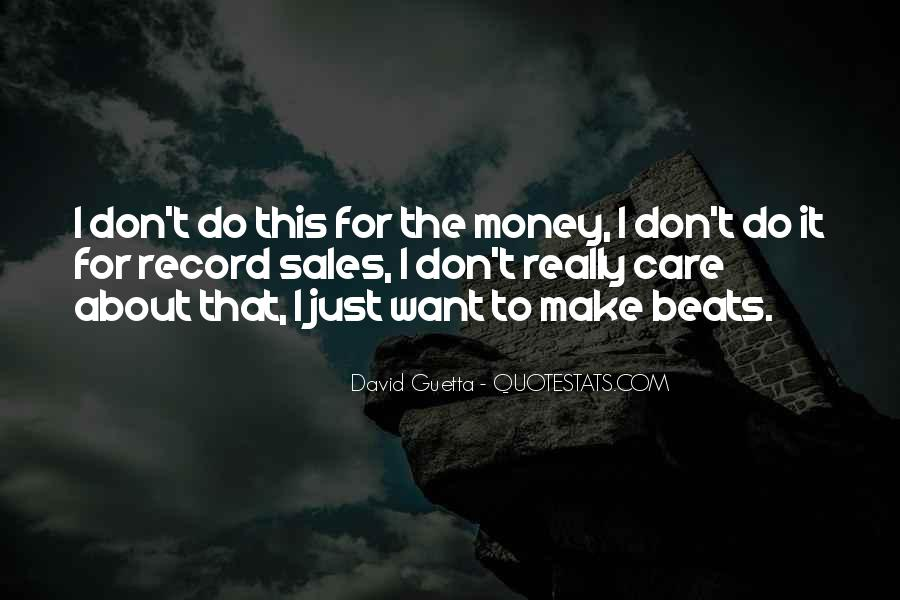 Quotes About David Guetta #1326041