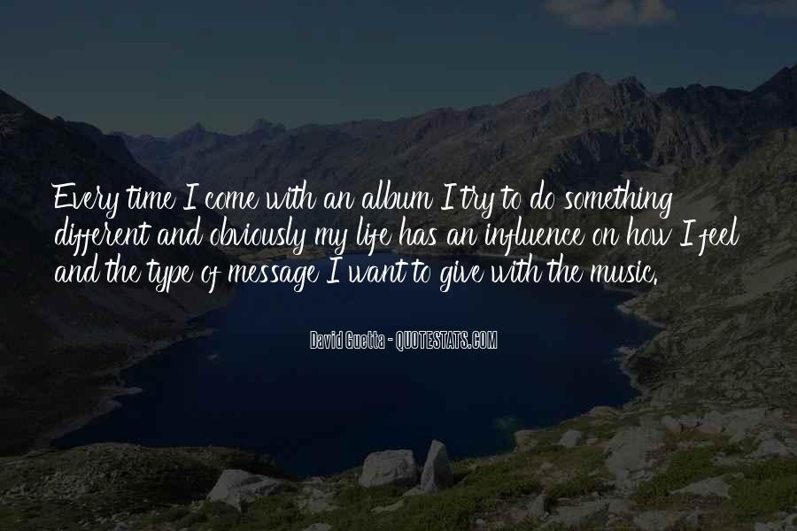 Quotes About David Guetta #909221