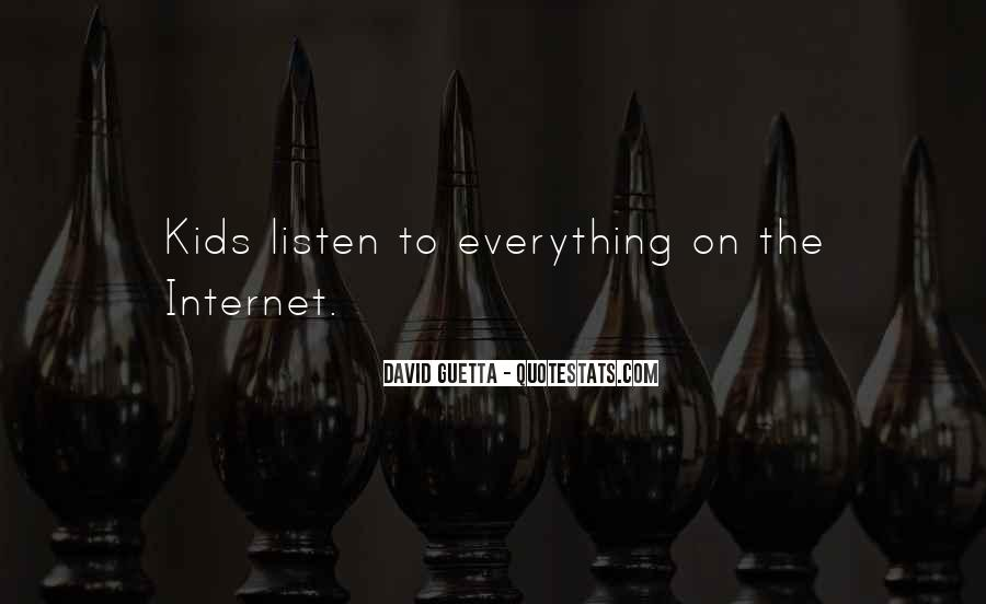 Quotes About David Guetta #938257