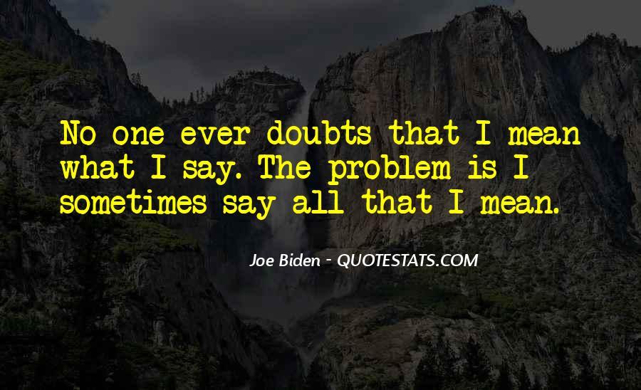 Quotes About Joe Biden