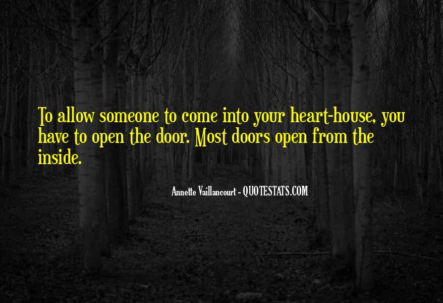 Quotes About The Doors #13393