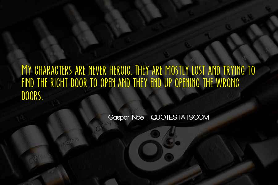 Quotes About The Doors #15395