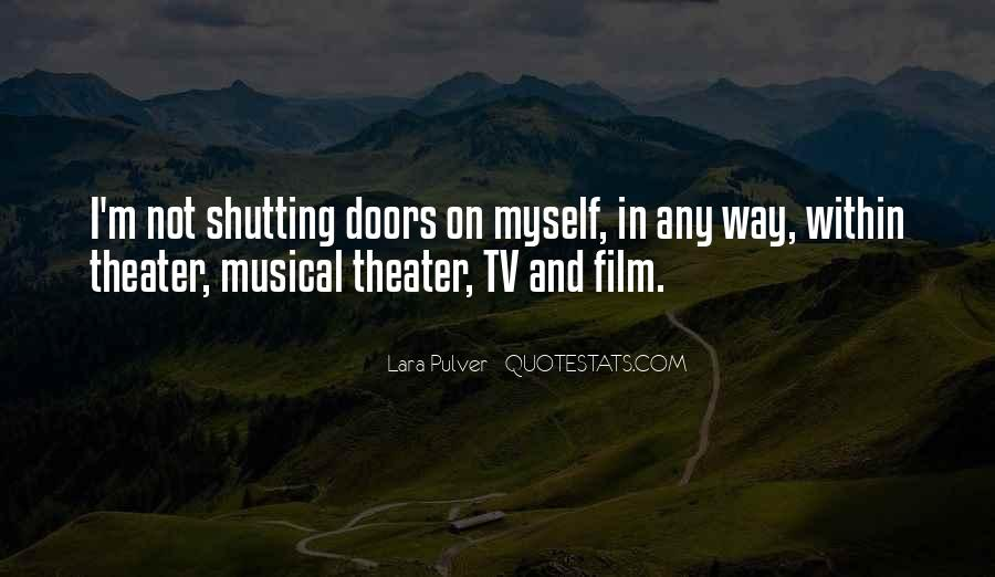 Quotes About The Doors #18414