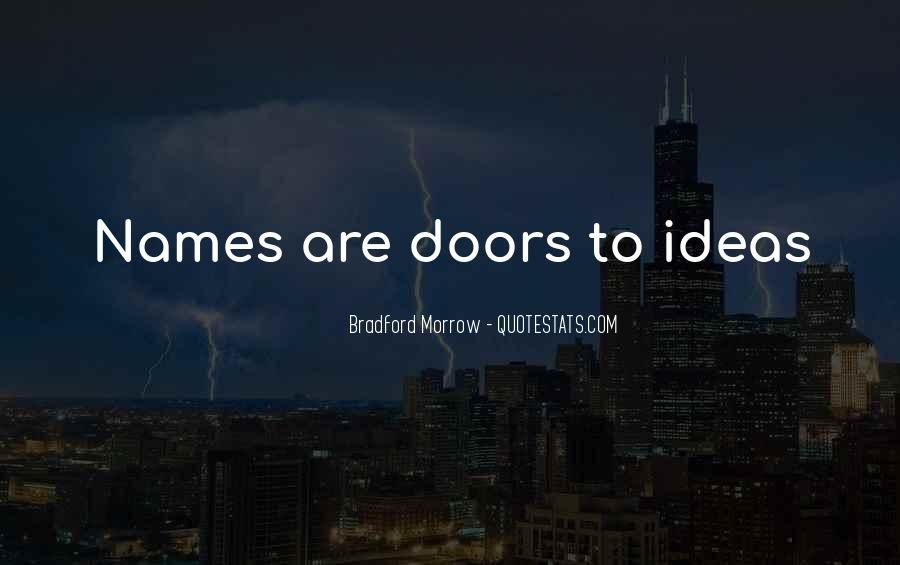 Quotes About The Doors #35632