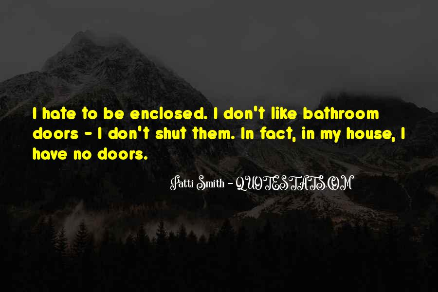 Quotes About The Doors #39977