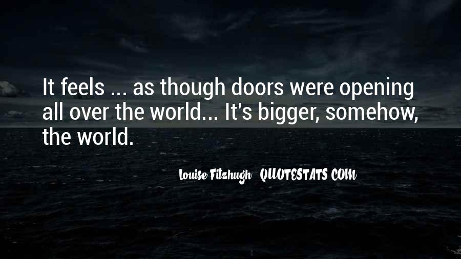 Quotes About The Doors #49456