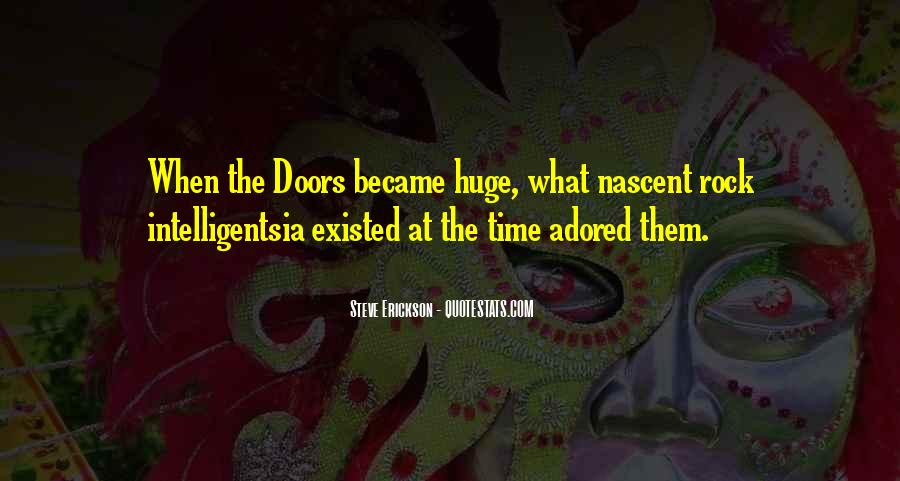Quotes About The Doors #58987