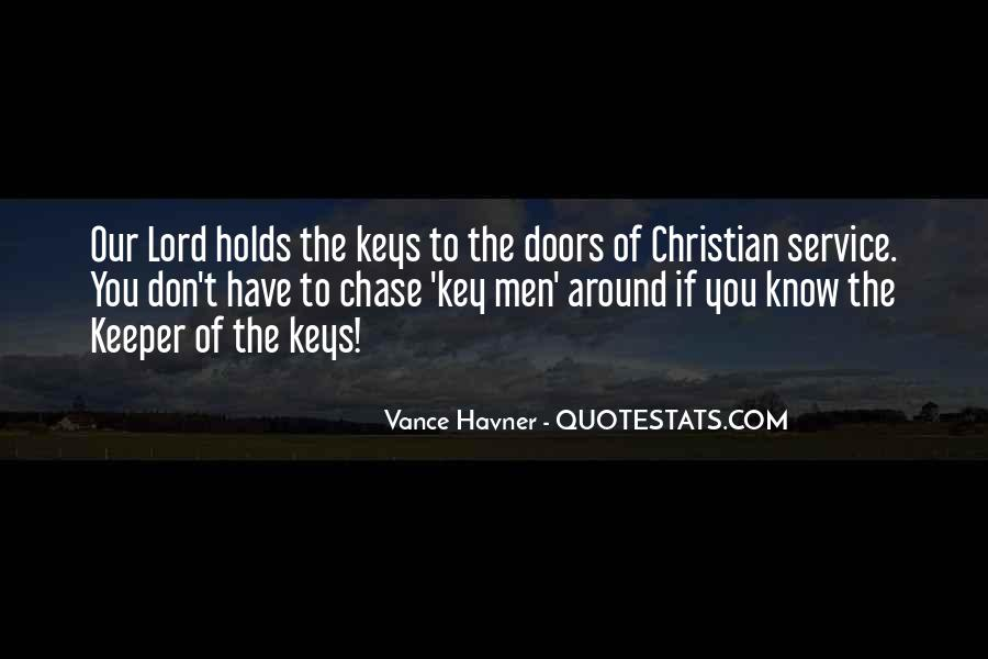 Quotes About The Doors #6126