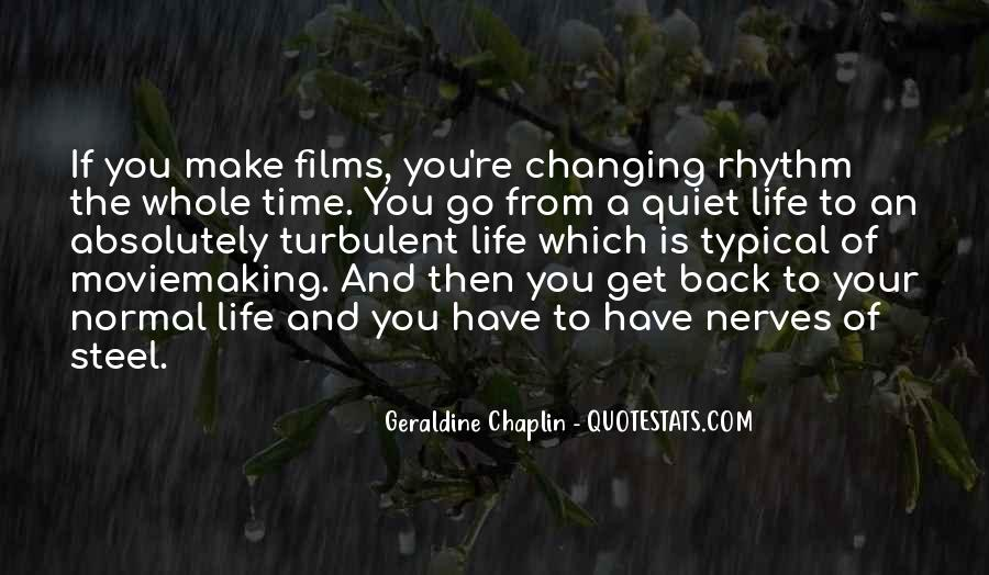Turbulent Life Quotes #1178396