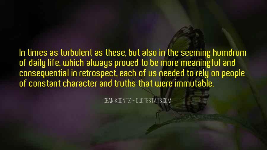 Turbulent Life Quotes #1443479