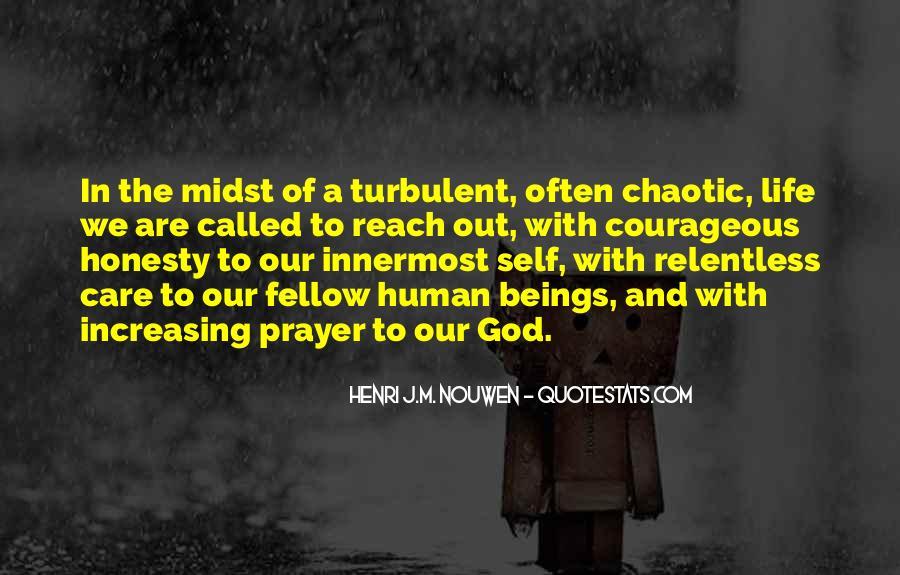 Turbulent Life Quotes #916553