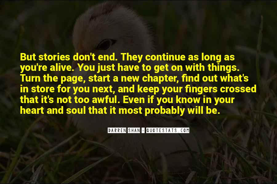 Top 26 Turn Over A New Page Quotes: Famous Quotes & Sayings ...