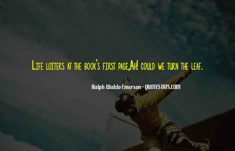 Turn The Page Quotes #1103129
