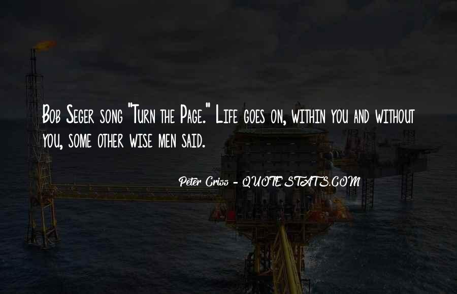 Turn The Page Quotes #989526