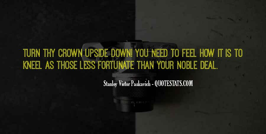Turn Upside Down Quotes #50808