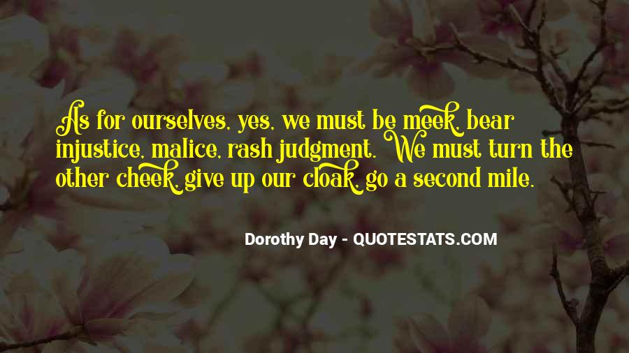 Turn Your Cheek Quotes #558369