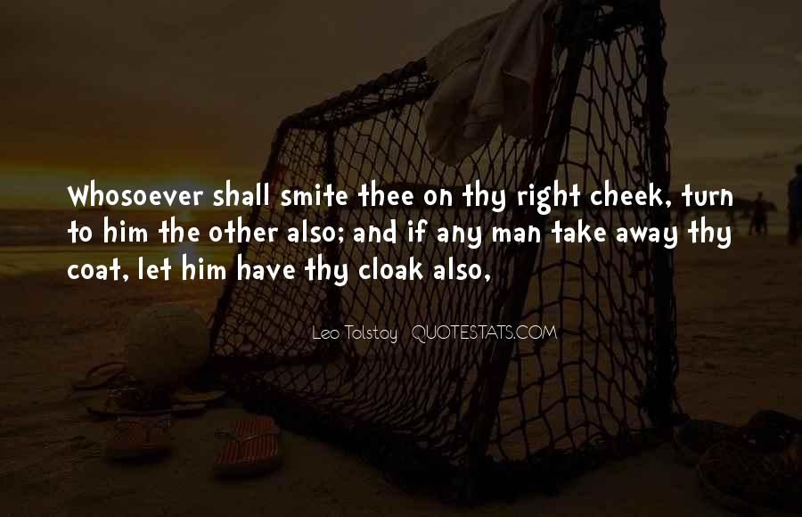 Turn Your Cheek Quotes #763828