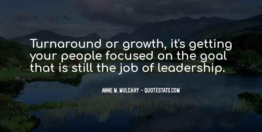 Turnaround Leadership Quotes #26570