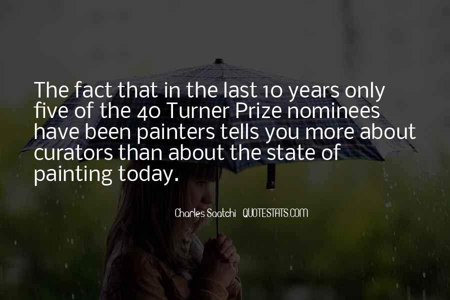 Turner Prize Quotes #1407406