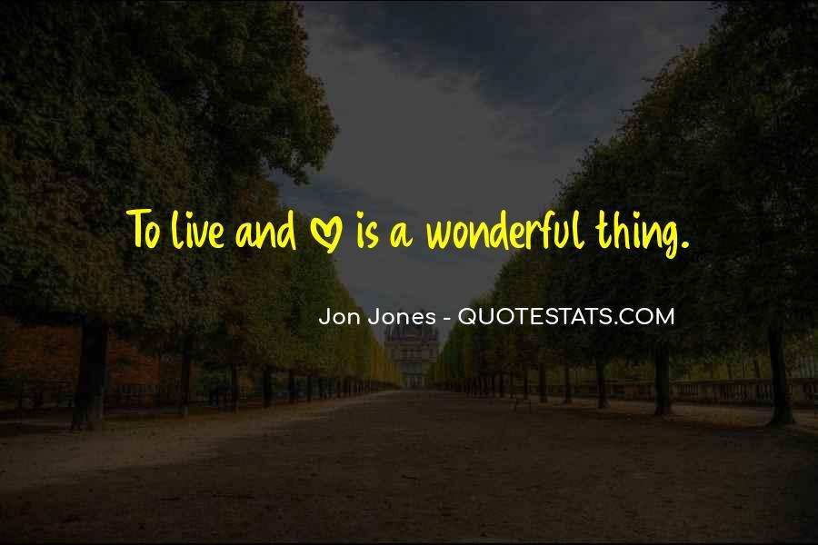 Quotes About Jon Jones #1029930