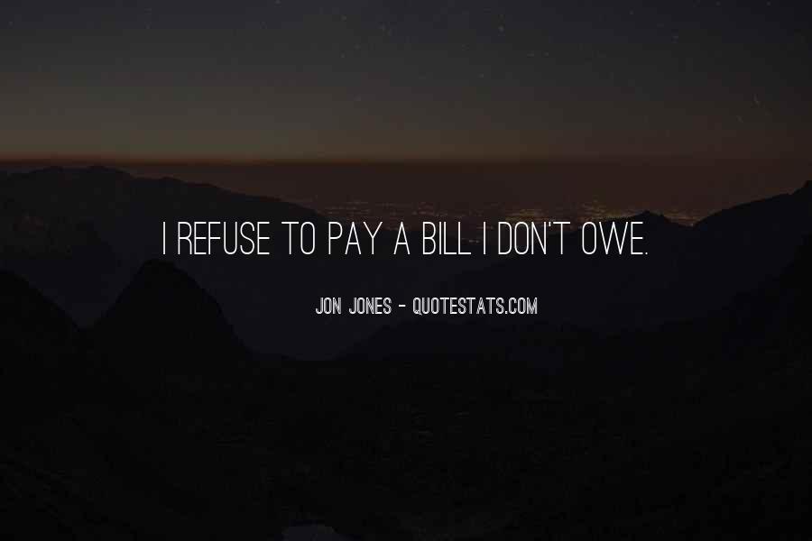 Quotes About Jon Jones #1038121