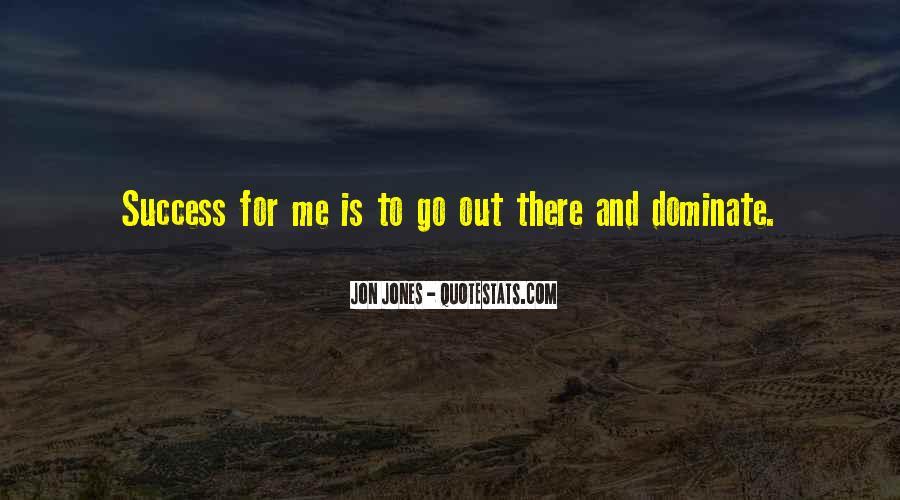 Quotes About Jon Jones #104956