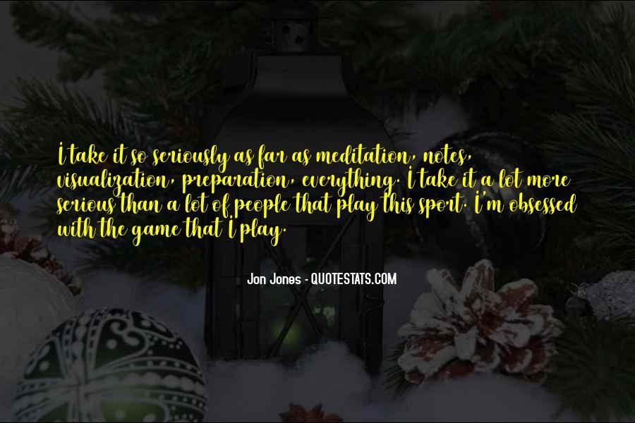 Quotes About Jon Jones #1056962