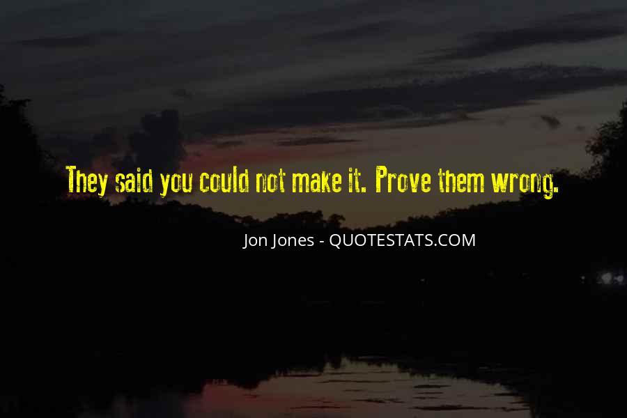 Quotes About Jon Jones #1237906