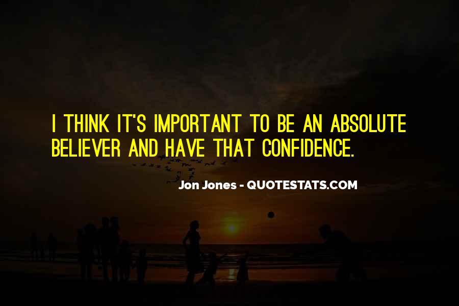 Quotes About Jon Jones #1243698
