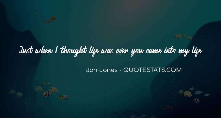 Quotes About Jon Jones #327195