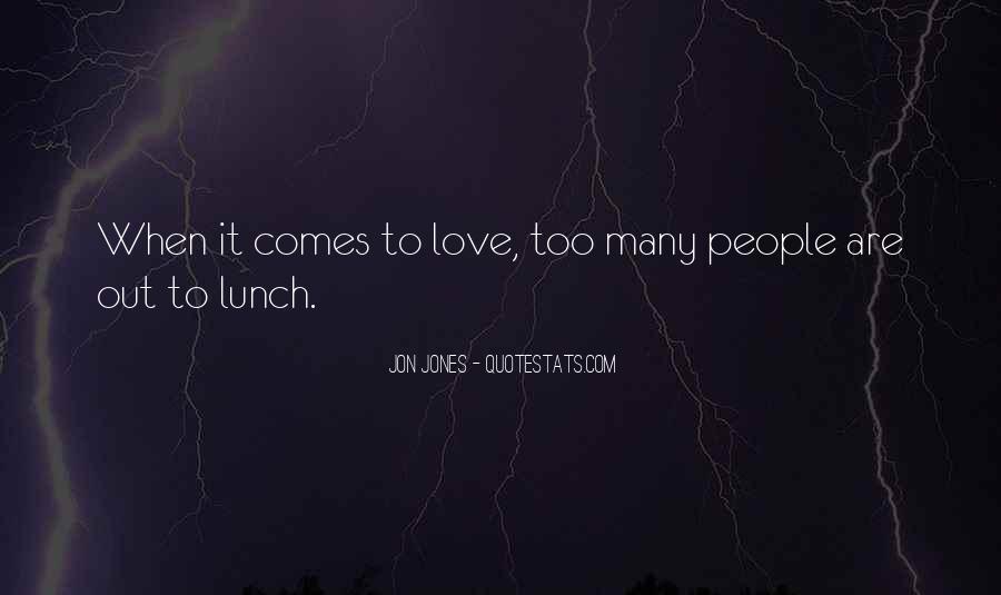 Quotes About Jon Jones #37817